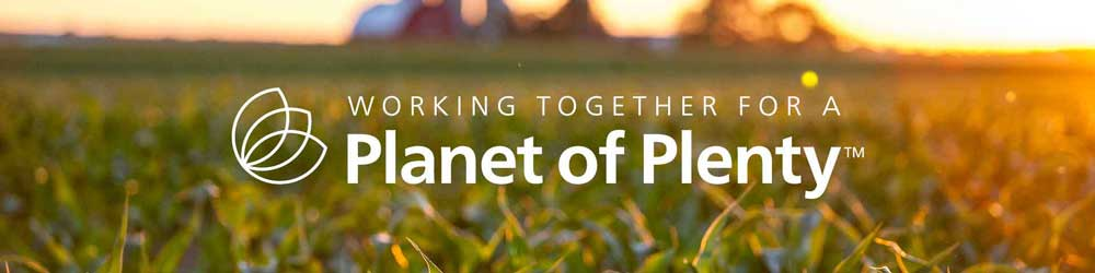 Working Together for a Planet of Plenty graphic