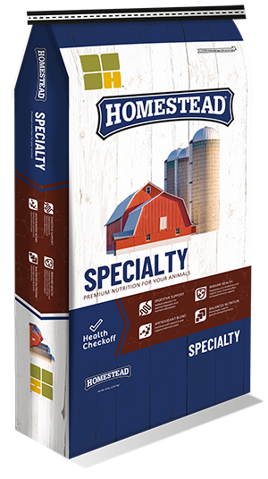 Homestead Specialty feed bag image
