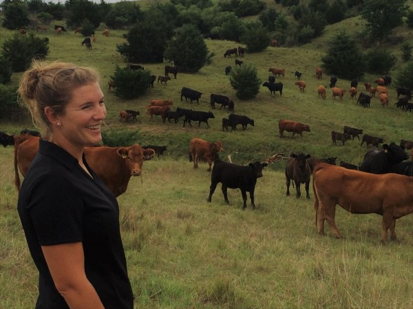 Cadra with cows